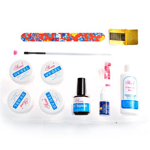 UV GEL KIT Nagel Nail SET Phasengel Nailart Nailstudio Nagelklebe | EBay