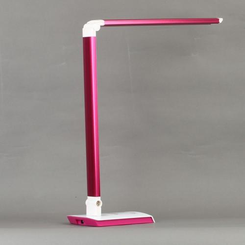 lampe schreibtisch led weisslicht 10w 60led rosa. Black Bedroom Furniture Sets. Home Design Ideas