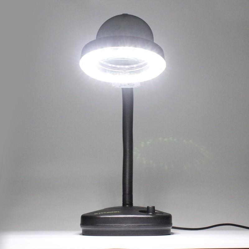 lupenlampe led lupenleuchte 36 mit 5 fach und 10 fach vergr sserung. Black Bedroom Furniture Sets. Home Design Ideas