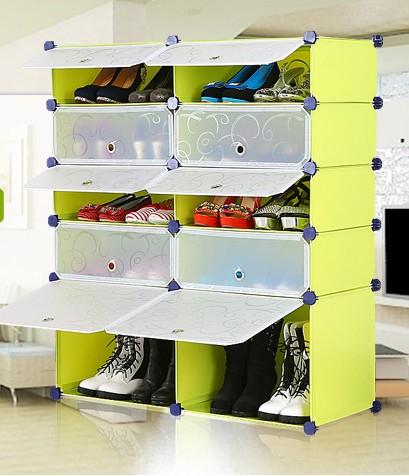 schuhregal steckregal w scheschrank diy 5 ebenen kunststoff. Black Bedroom Furniture Sets. Home Design Ideas