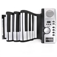 E-Piano E-Klavier Roll Up Keyboard 61 Key