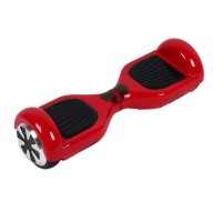 Electric Hoverboard  Scooter Board , rot Self Balancing Scooter mit LED-Licht: Grün (Beim Fahren) 10 Km/h, Rot