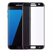 Samsung Galaxy S7 Edge Panzerglas 3D Full Displayschutzfolie Schwarz