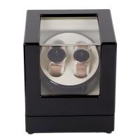 Uhrenbeweger Uhrendreher Uhrenbox für zwei Automatikuhren, 5 Betriebsarten, Watch Winder 2+0