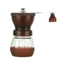 Manuelle Kaffeemühle Tragbar-Espressomühle  HandkaffeemüHle Von Grob Bis Fein-Perfekt für Outdoor-Camping