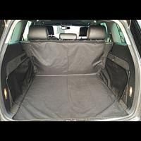 Kofferraumschutz, Kofferraumschutzdecke, Auto Hundedecke, Ideal für Hunde - Kofferraumdecke mit Ladekantenschutz - Schneller Einbau, schwarz, 155*104*33cm