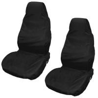 2 x Sitzschoner Sitzbezug Auto Werkstattschoner schwarz