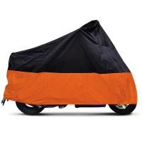 Abdeckung Motorradabdeckung Motorrad Orange /schwarz XXL MOTORRADGARAGE