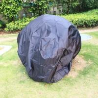 Motorrad Abdeckung XL 245X105X125 cm schwarz