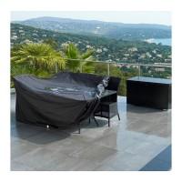 Gartenmöbel Abdeckung  Schutzhülle Abdeckplane aus Polyethylen Abwaschbar und Wasserdicht  240*136*88cm