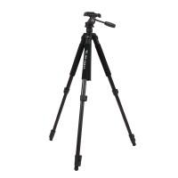 Kamerastativ Fotostativ Höhe 46-170 cm,  3-Wege-Kopf, Kamera Stativ Schaumstoffgriff ,Höhe 46-170 cm, schwarz inkl. Tragtasche