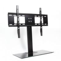 TV Ständer Universal Fernsehtisch Standfuß, von 37bis 55 Zoll, Höhenverstellbar Schwarz