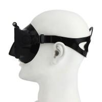 Tauchmaske für Gopro schwarz