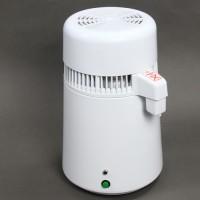 4 L Wasserdestillierer reines Trinkwasser Kunststoff weiss