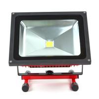 LED Flutlicht mit Akku 50W kaltweiss Licht tragbar IP6 Wasserdicht