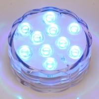 Unterwasser Licht mit Fernbedienung,  Multi Farbwechsel Wasserdichte LED Leuchten Teichbeleuchtung für Vase Base, Dekoration
