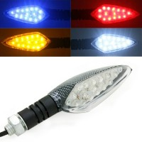 4x Universal Mini Blinker LED Roller Lampe