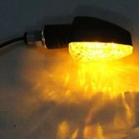 4x Universal Mini Blinker 15 LEDs Roller Lampe