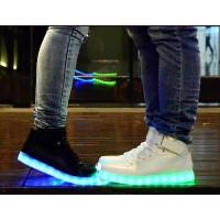 LED Schuhe / Sneaker Leuchtende Gr.36 schwarz