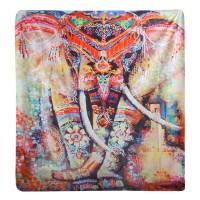 Tapisserie Elefant Indian Mandala Wandbehang 150x130cm Mandala Tagesdecke Wandbehang