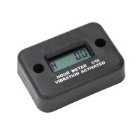 Zeitmesser Betriebsstundenzähler LCD-Anzeigefür Motorrad Wasserdicht