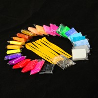 24 Farben Polymer Ton Clay Set Basteln
