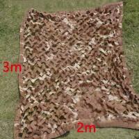 Tarnnetz Camouflage Sichtschutz Sonnenschutz  Tarnung 2 x 3m