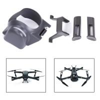 Gegenlichtblende für DJI Mavic Pro, Objektivdeckel  DJI Mavic Pro Landing Gear Beinhöhe , Landing Gear Kit,  Grau