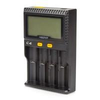 Batterieladegerät Akku Ladegerät 4 Schacht DC12V oder ac86-265V