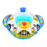 Baby Schwimmhilfen Schwimmsitz Kinder boot Schwimmen 1-5Jahre,Gewicht bis ca. 23kg  Aufblasbarer Kinderboot im Hallenbad oder im Freien, Modell in Seelöwe