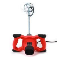Farb Mörtelrührer Rührgerät, Rührwerk 1500 Watt, Drehzahlregelung 600 U/ min,  3 Mischflügel , 3 kg