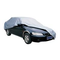 Auto Abdeckplane Autoabdeckung Auto-Vollgarage 480 x 175 x 120cm Wasserdicht silber