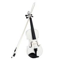 4/4 Violine kaufen Geige weiss mit Bogen neu