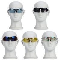 Sportbrillen inkl. 5er Wechselgläser PC Linse