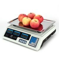 Digitalwaage,Zählwaage ,Preisrechenwaage Ladenwaage, 40 kg / 5 g für  Küchen, Kochen oder Büro, LCD Display -  inkl.Ladegerät