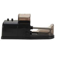 Zigarettenmaschine Stopfmaschine Hebelstopfmaschine - elektrische Zigarettenstopfmaschine,  kunststoff, Metall, schwarz, 19.5 X 6.5 X 6 cm