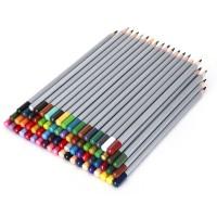 72xBuntstifte + aufrollbares Rollentasche Farbstift Colour-Grip für Künstler/zum Skizzieren/Malen, für Erwachsene