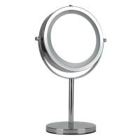Kosmetikspiegel mit 16LED 5 fach Ø15cm