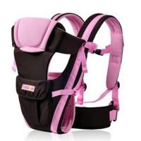 Babytrage Rückentrage bis 12kg rosa