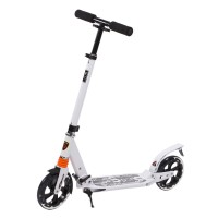 Alu Klappbar Scooter Roller Tretroller Big Wheel Outdoor Sport
