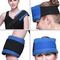 Wärme / Kältepressen mit dehnbaren Bandagen Therapie-Pack für Schmerzen im Rücken, an der Schulter usw