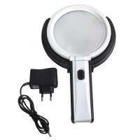 Leselupe 10X 20X Fach mit 10 LED Licht  Lese-Vergrößerungsglas Handlupe Leselupe Leuchtelupe