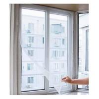 4 Fliegennetz für Fenster Insektenschutz 130x150cm