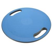 Balance-Board mit Griffen Therapiekreisel 150KG Ø 40cm, Körpergleichgewicht & die Körper-Koordination, blau