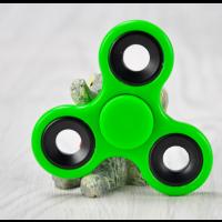 Hand Spinner Fidget Spinner Pocket grün Finger Kreisel Anti Stress EDC ADHS Fokus