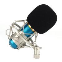 Kondensator Mikrofon  für Singen, Videochatten, Studioaufnahmen,usw (16mm Kapsel, Nierencharakteristik,  34dB±2dB)
