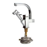 2 in 1 Wasserhahn für Küche Durchmesser 19.4mm drehbar