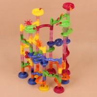 Spielzeug Kugelbahn Murmelbahn Lernspielzeug neu 105tlg