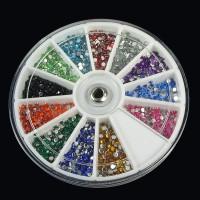 Strasssteine für Nägel Nail Art Glitter+Rad