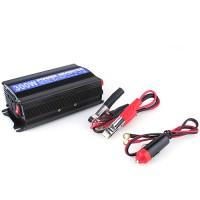 Spannungswandler Wechselrichter Stromwandler Inverter KFZ Auto 300/600W 12V-230V mit USB 5V
